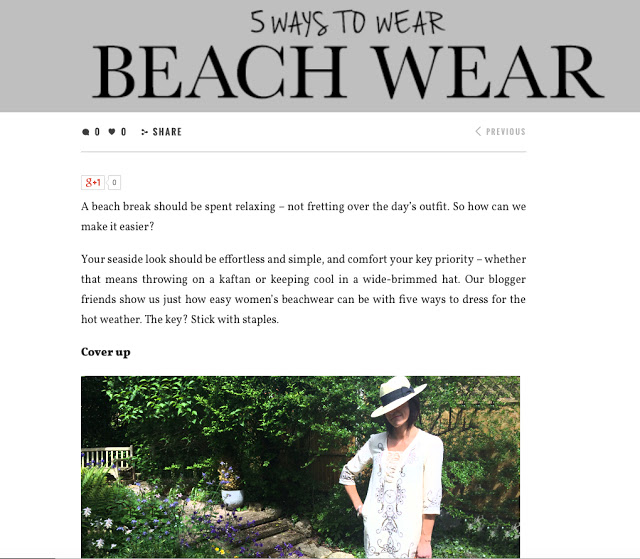 My Midlife Fashion La Redoute Beachwear