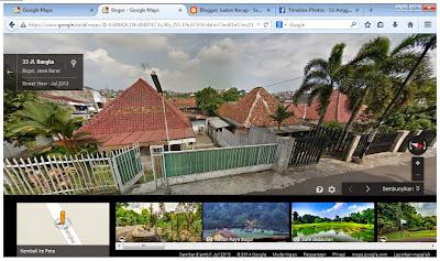 Pengalaman Mencoba Google Street View 3D