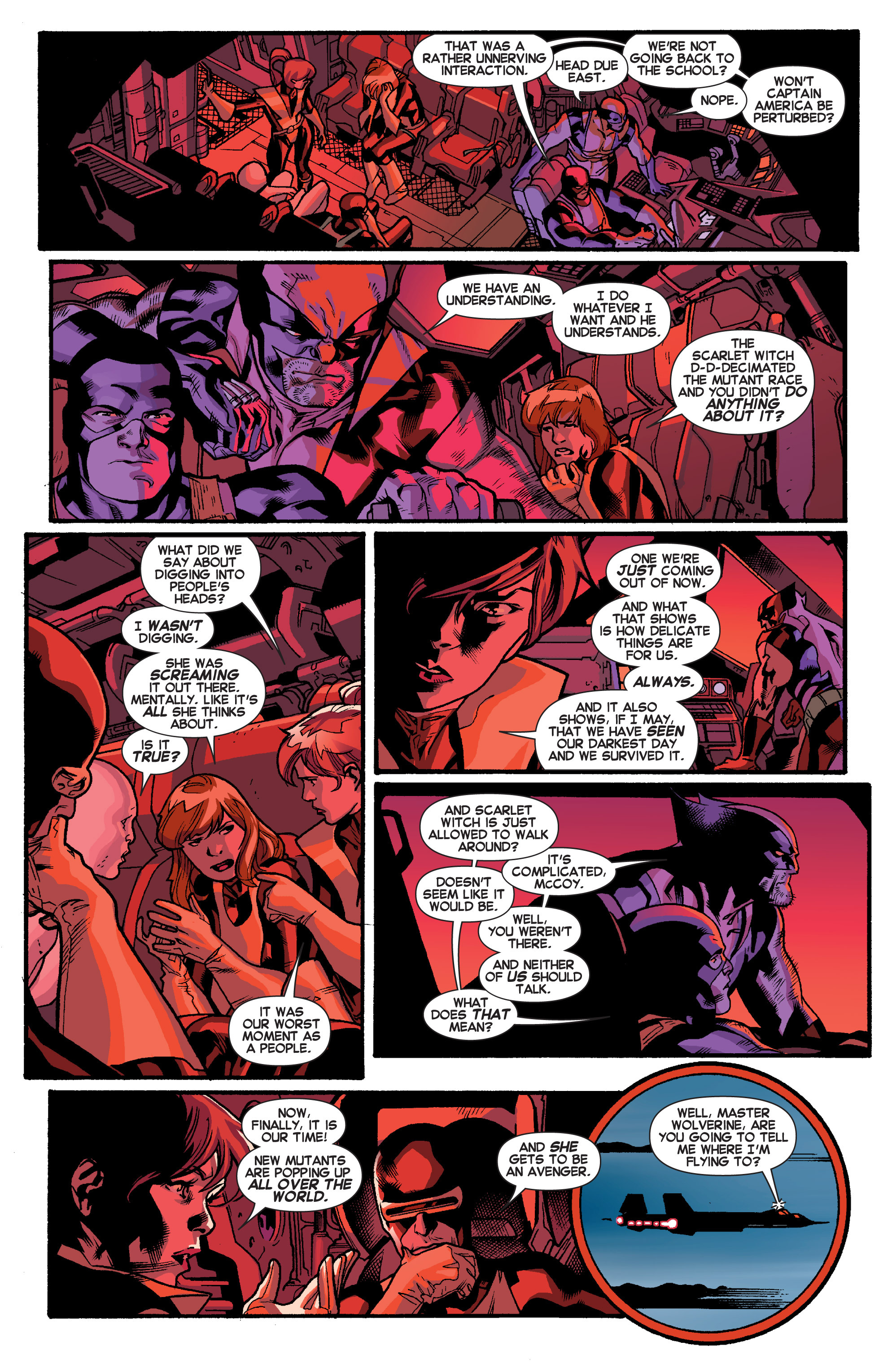 Read online All-New X-Men (2013) comic -  Issue # _Special - Out Of Their Depth - 45
