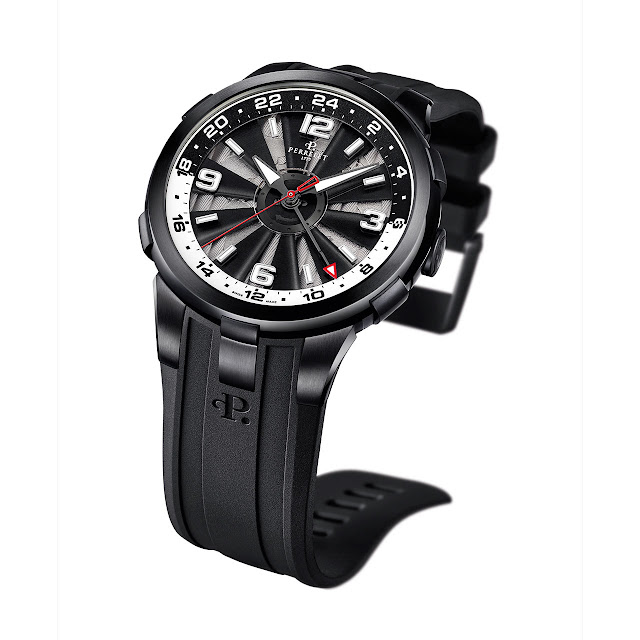 Perrelet Turbine GMT Mechanical Automatic Watch