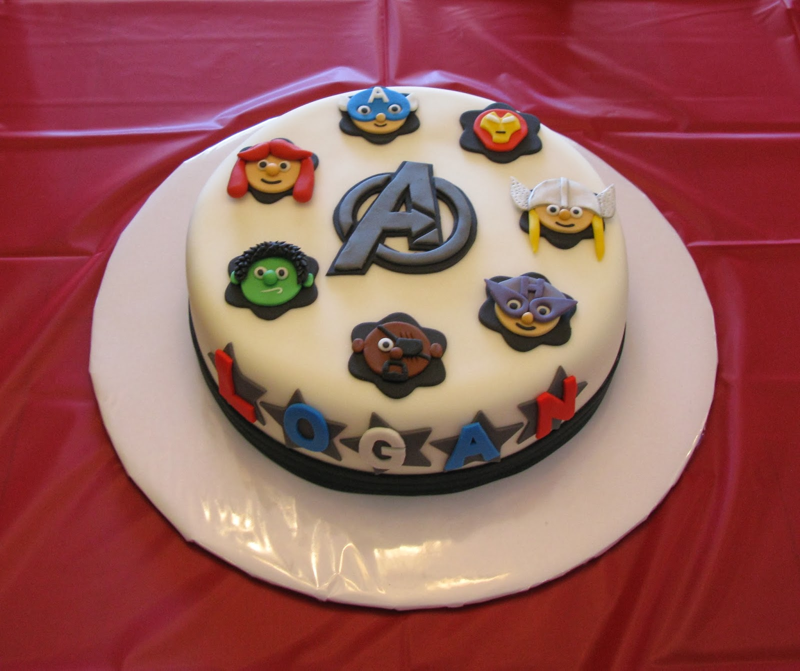 Wick D Cakes The Avengers