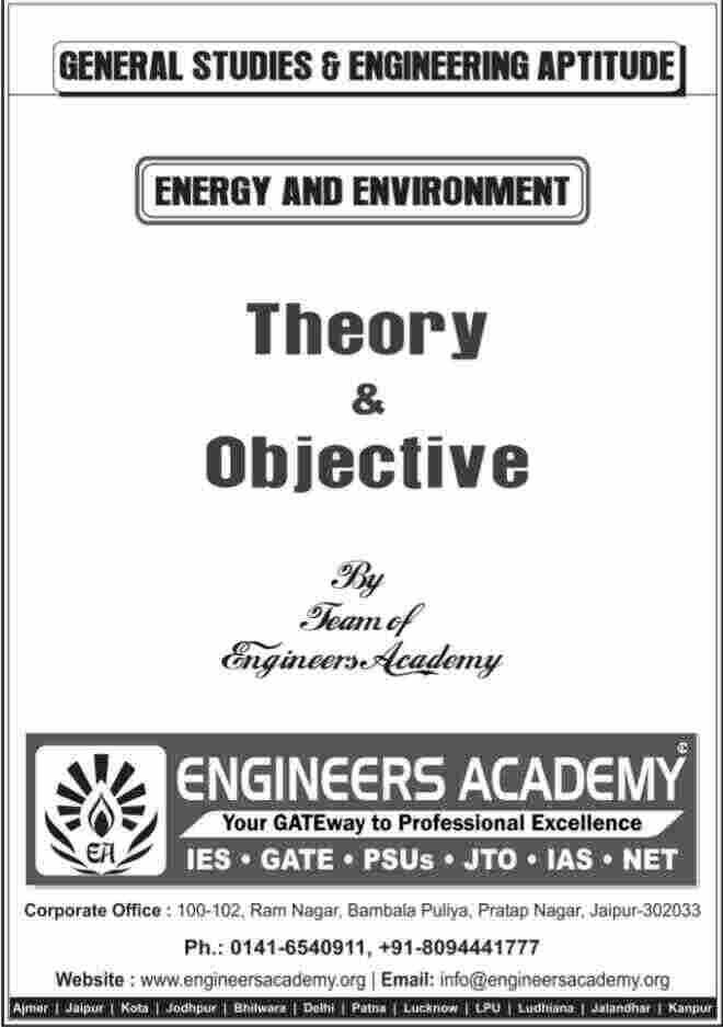 Download Engineering Aptitude & General Studies Engineers Academy Publication Book Pdf