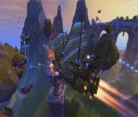 لعبة الاكشن قراصنة الغيمة Cloud Pirates