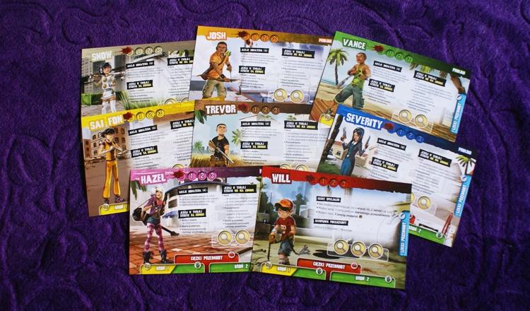 Karty postaci Zombie 15