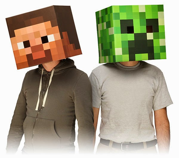 8. Minecraft Face Mask