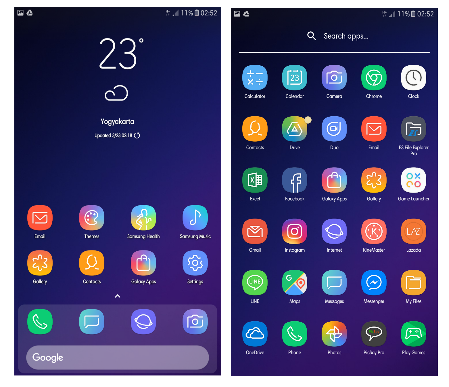 Galaxy S9 Launcher Icon Pack | Delux & Horux - Thobby Blog