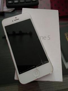 ganti lcd iphone 5 berapa