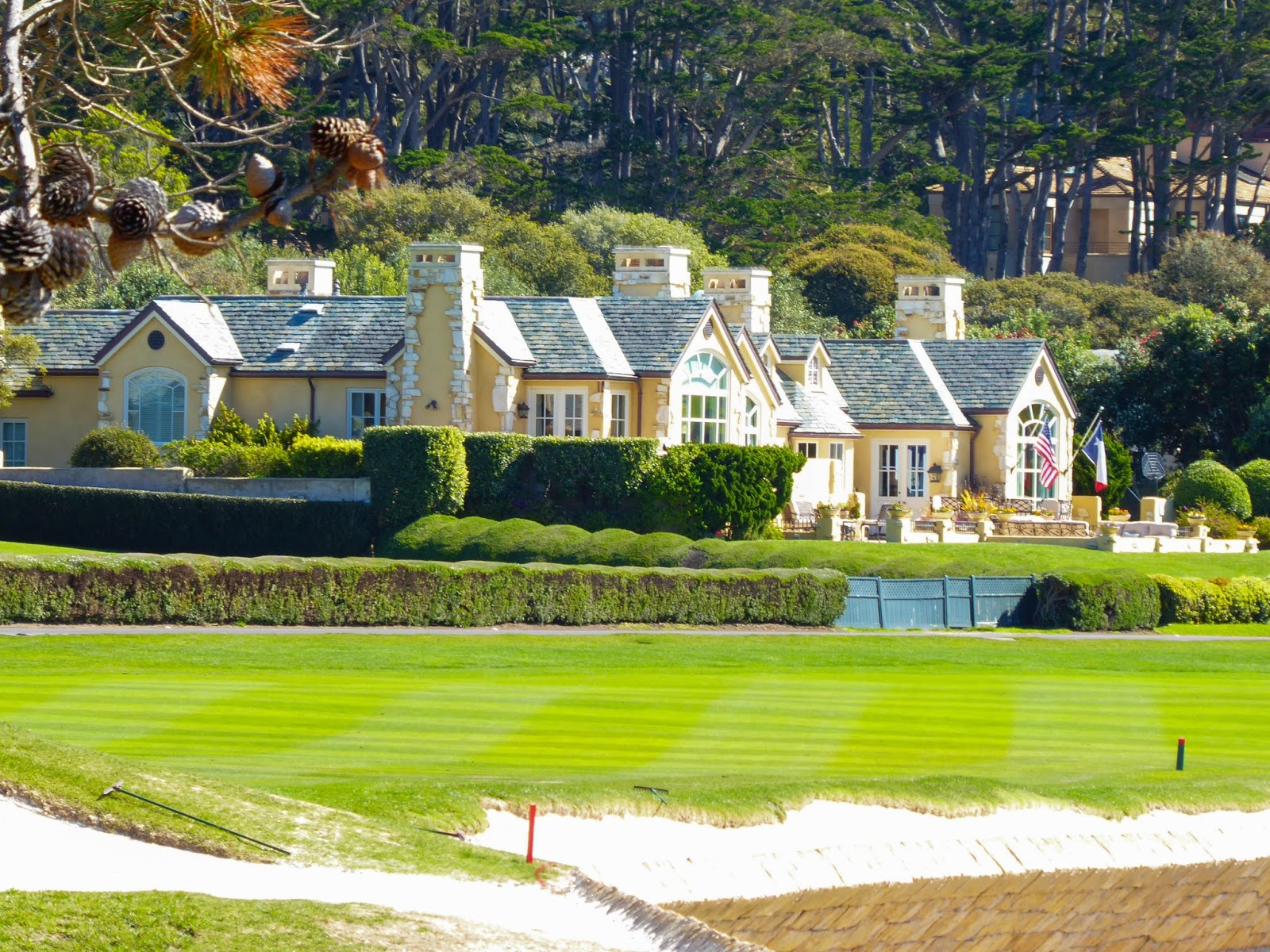 Houses On Pebble Beach Golf Course The Best Beaches In World