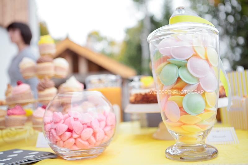 pots de bonbons couleurs pastel