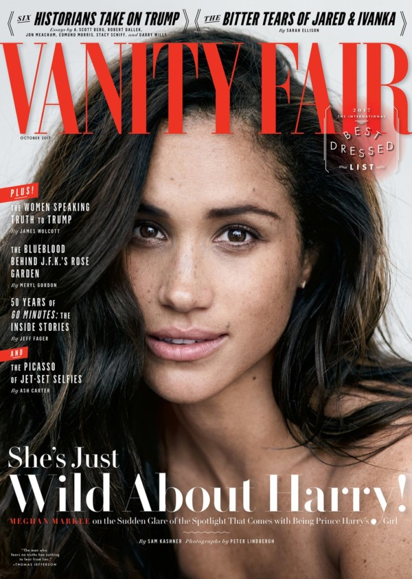 """""""We're in love"""" – Actress Meghan Markle opens up about Relationship with Prince Harry"""