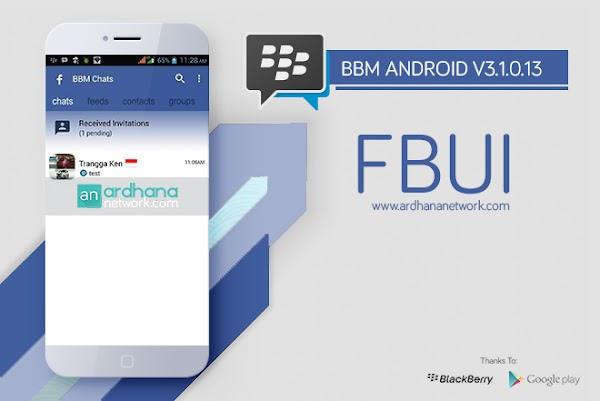 BBM FBUI V3.1.0.13 - BBM MOD Android V3.1.0.13