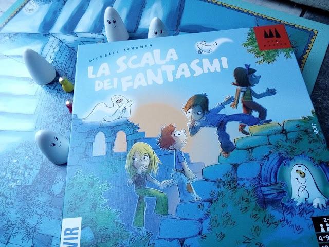 """""""La Scala dei Fantasmi"""", il gioco di memoria e mistero per i più giovani"""