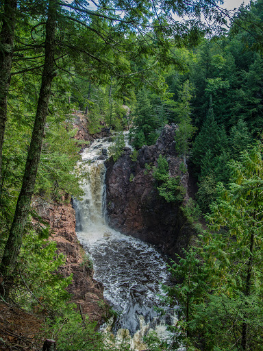 Brownstone Falls at Copper Falls State Park