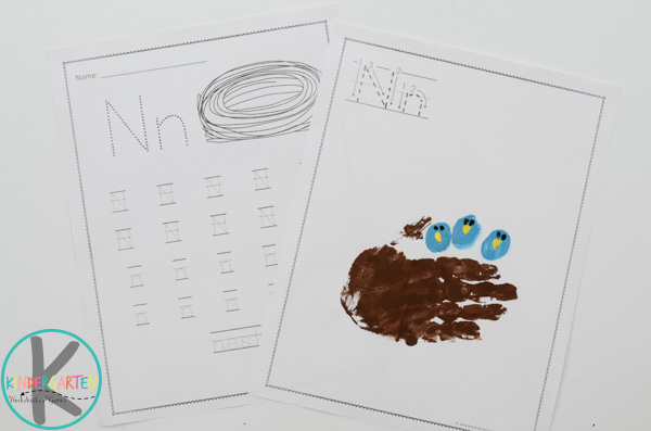 letter n worksheets-free-printable
