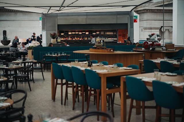 大英博物館(British Museum) コートレストラン