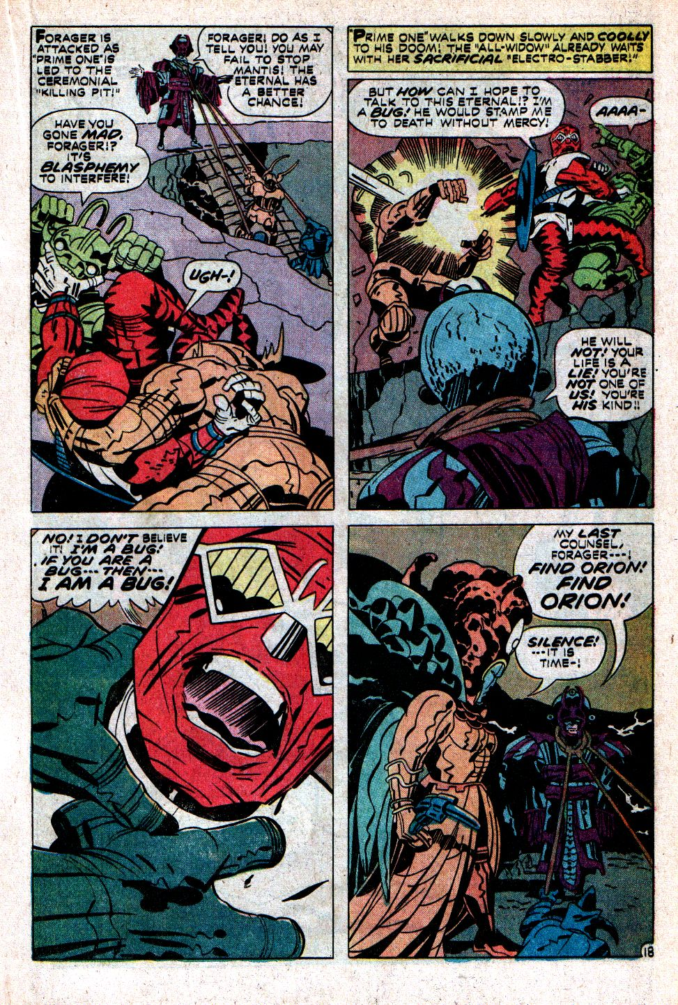 The New Gods (1971) issue 9 - Page 22