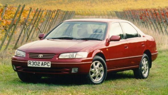 Camry 4 01 -  - Lịch sử các dòng xe Toyota Camry : Đột phá qua từng thế hệ