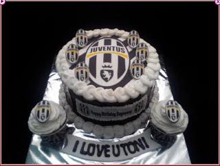 Kue Ulang Tahun Juventus Tart Edible