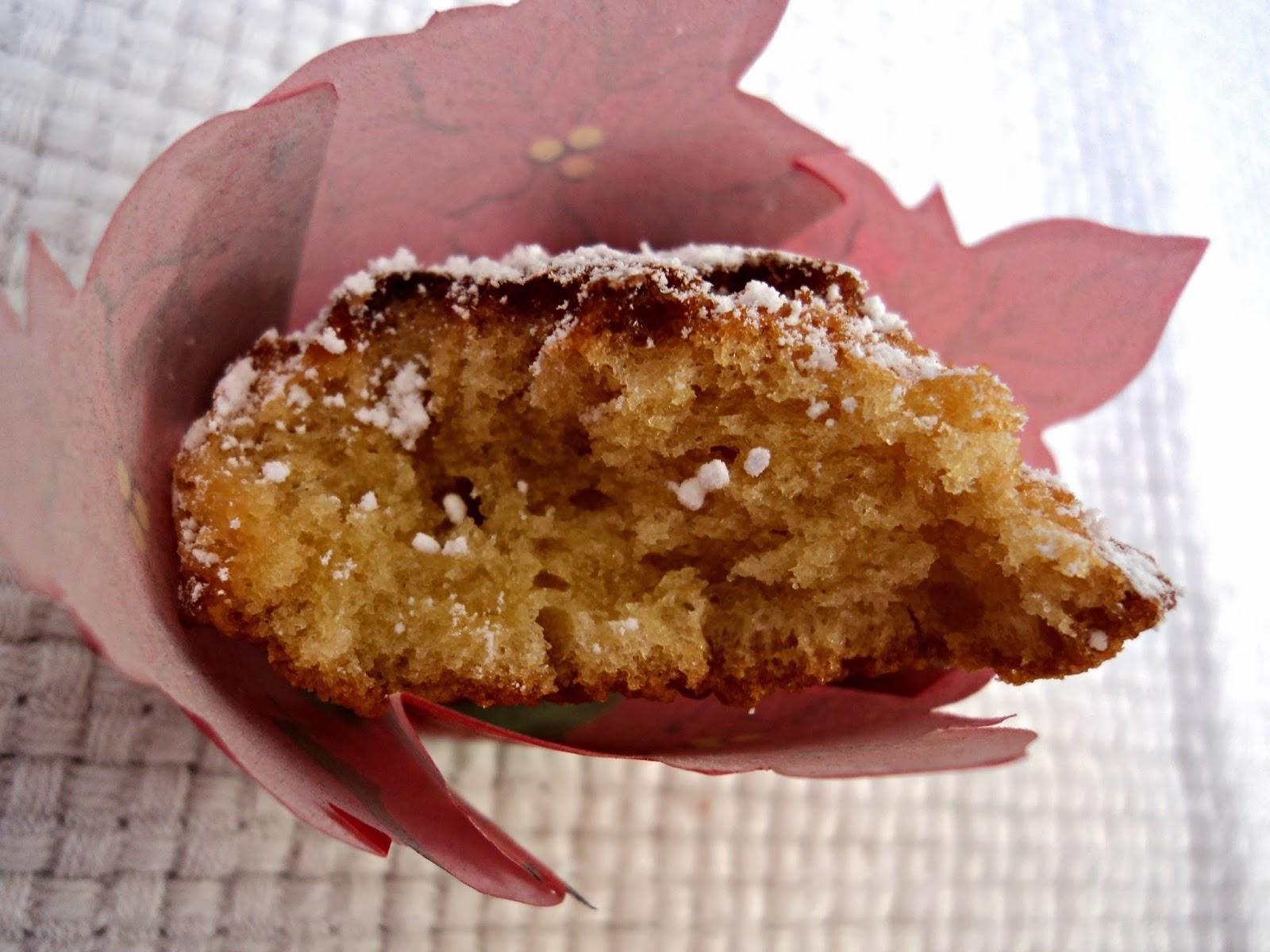 receta casera madeleines, miel, ladureé