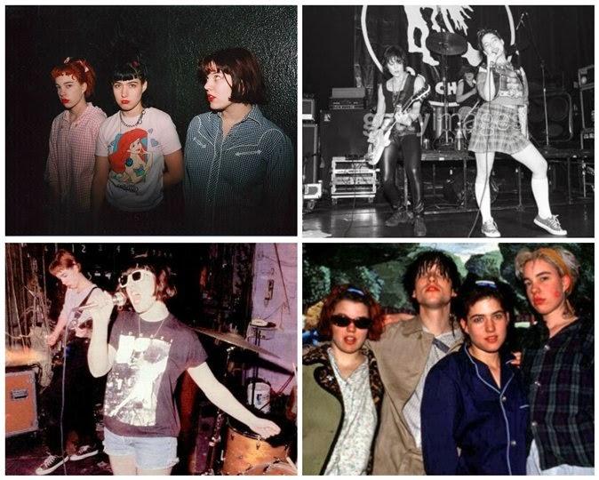 grunge female bands