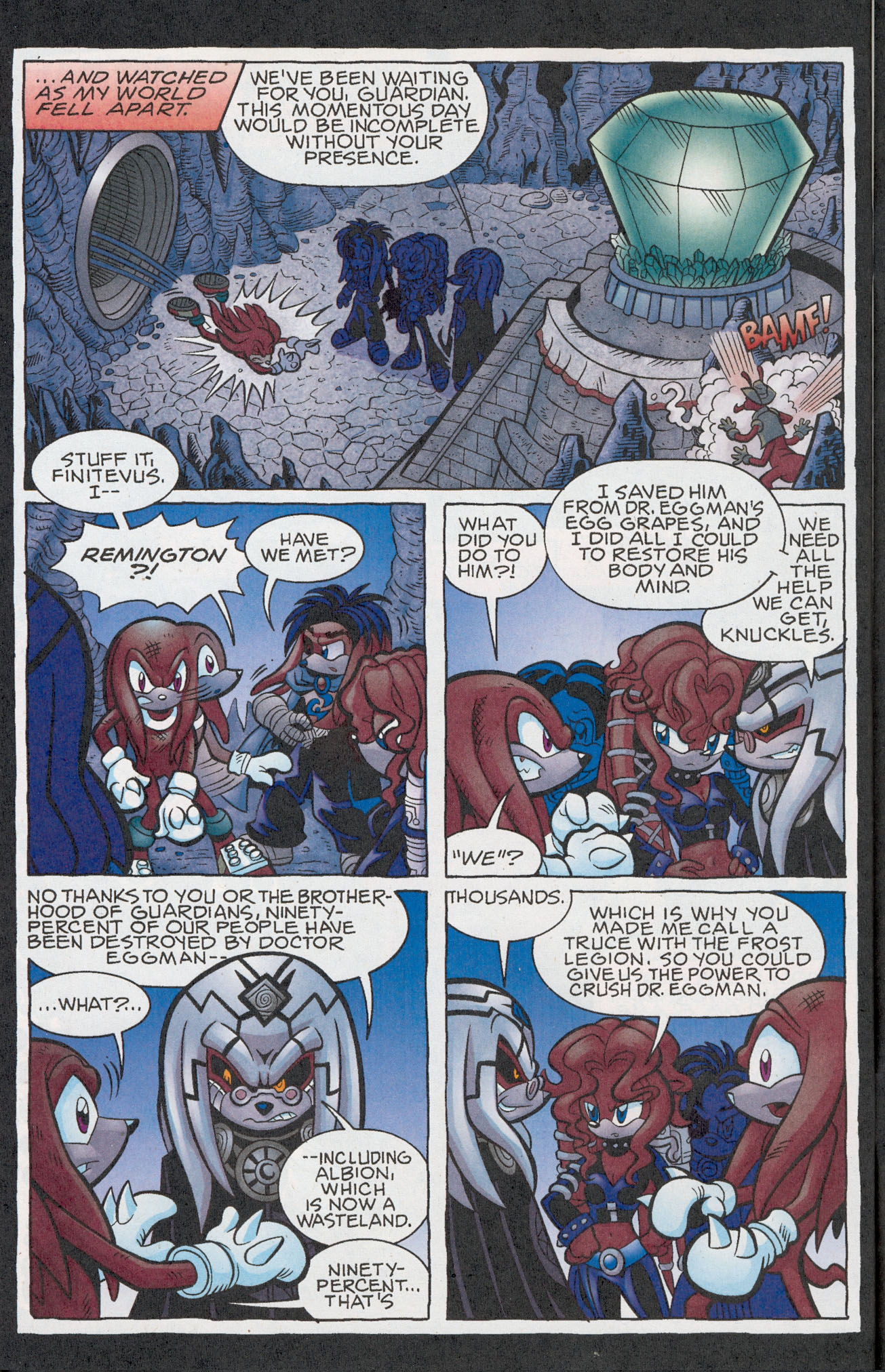 Read online Sonic The Hedgehog comic -  Issue #181 - 21