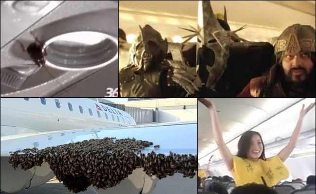 7 Peristiwa Aneh Luar Biasa yang Terjadi di Pesawat Terbang