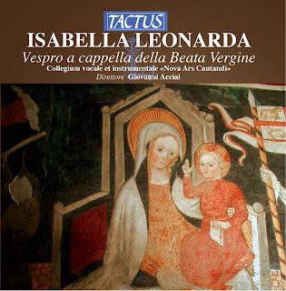 Leonarda: Vespro a cappella della Beata Vergine