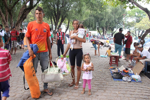Image Attribute: Venezuelans being relocated to shelter in Boa Vista, Capital of Roraima State, Brazil / Source: UNHCR