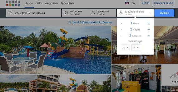 tempah hotel online agoda