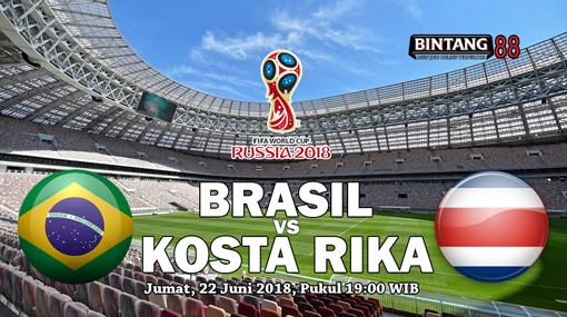 Prediksi Brasil Vs Kosta Rika 22 Juni 2018