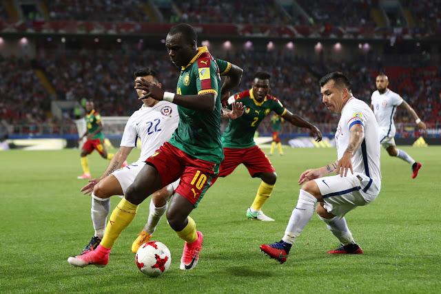 Camerún y Chile en Copa Confederaciones 2017, 18 de junio