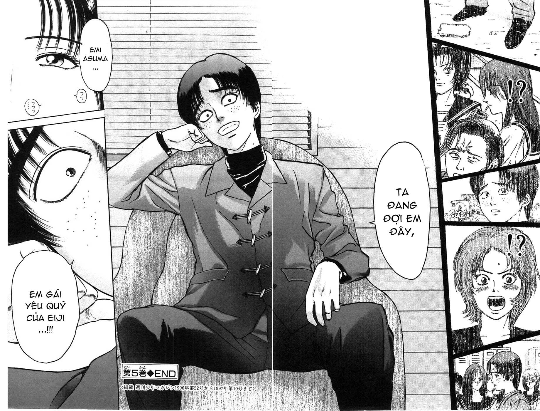 Psychometrer Eiji chapter 40 trang 20