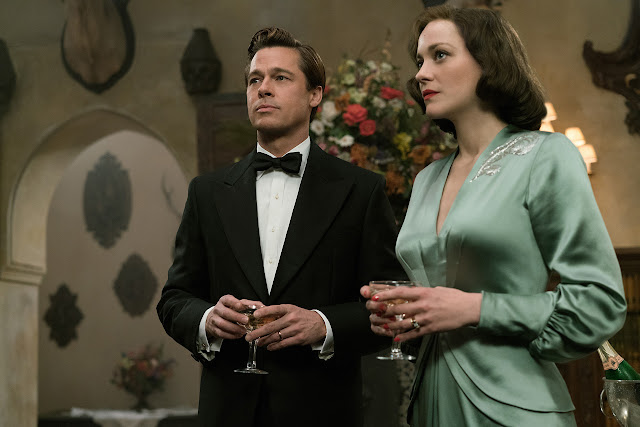 La decepción es un arte... Nuevo clip de 'Aliados' con Brad Pitt y Marion Cotillard