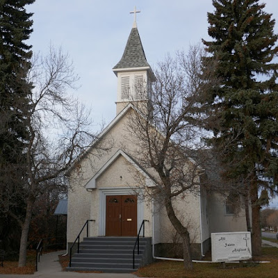church, historical, Weyburn, Saskatchewan