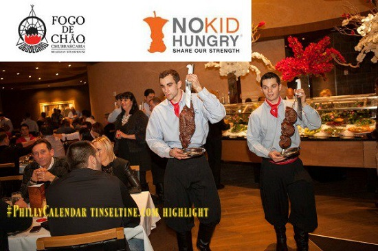 NO Kid Hungry Non Profit Organization and Fogo de Chao