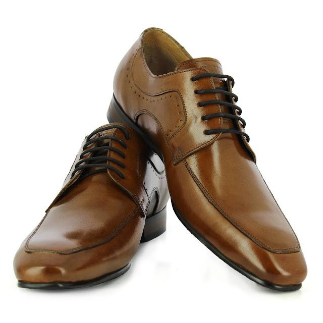 Alberto Torresi Tan Formal Shoes