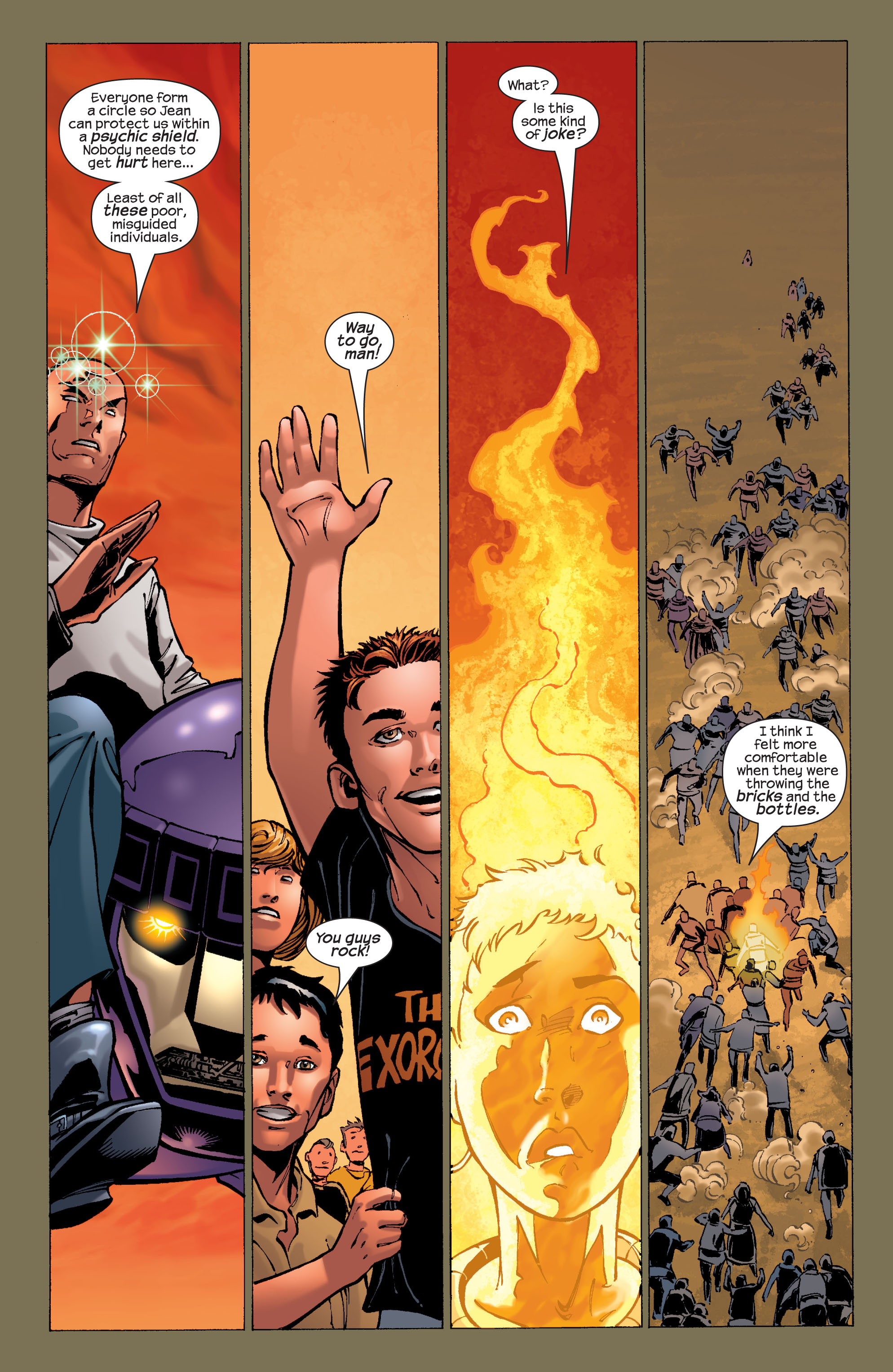 Read online Ultimate X-Men comic -  Issue #32 - 7