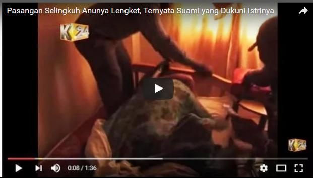 VIDEO: Kena Jampi-jampi Suami, Pasangan Selingkuh Ini Akhirnya Lengket Usai Berhubungan Intim.