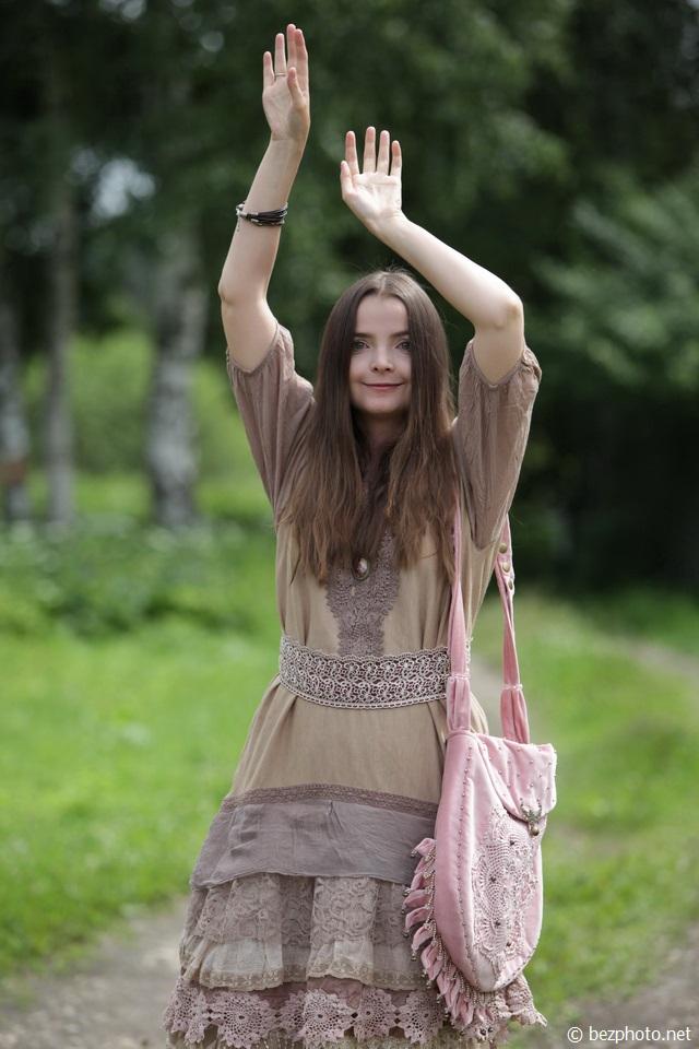 летнее платье бохо фото