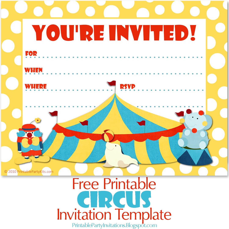 Carnival Themed Invitation Template from 2.bp.blogspot.com
