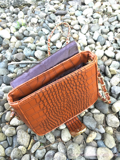 Crocodile Purse Inside Banggood - Andrea Tiffany A Glimpse of Glam