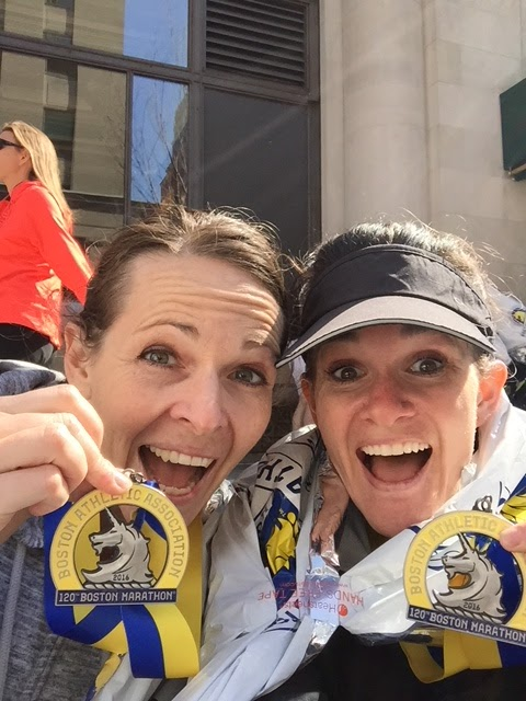 Boston Marathon Finisher!