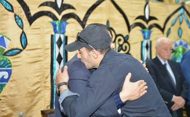 نجوم الفن والإعلام والإنتاج فى عزاء والدة لؤى ووائل عبد الله