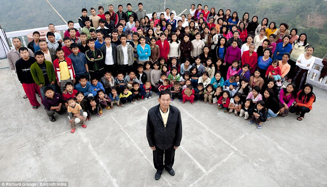 Man Lives in One House With His 39 Wives, 94 Children, and 39 Grandchildren!