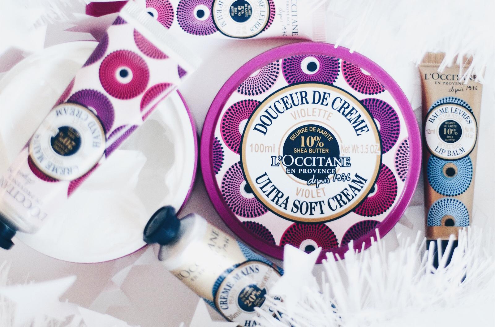l'occitane karité nouveautés hiver 2016 violette rose fouettée avis test