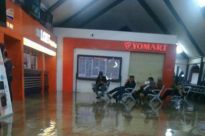 Lihat Begini Kondisi Stasiun Bandung Kebanjiran