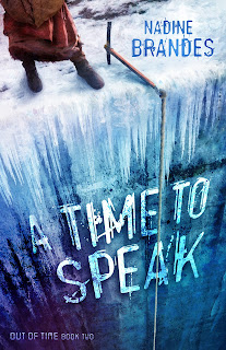 "This week's Waiting on Wednesday on The Artist Librarian features ""A Time to Speak"" --book 2 of @NadineBrandes' heart-stopping dystopian Out of Time Trilogy."