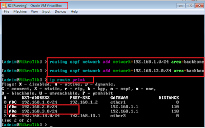 Materi Konfigurasi Dasar OSPF dalam Mikrotik
