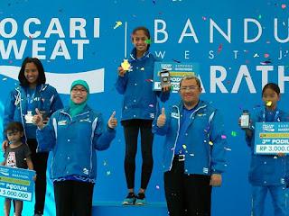Daftar para juara West Java Marathon 2017