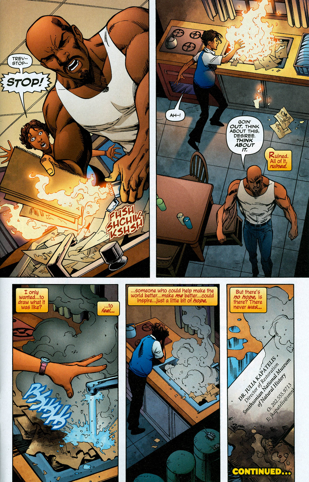 Read online Trinity (2008) comic -  Issue #19 - 33